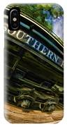 Southern Pacific 2472 Steam Engine 1921 Sunol Station IPhone Case