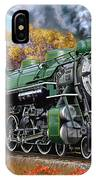Southern Railway Class Ps-4 Pacific IPhone Case