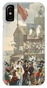 Southwark Fair, 1733, Illustration IPhone Case