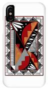 Southwest Collection - Design Seven In Red IPhone Case