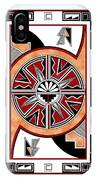 Southwest Collection - Design Six In Red IPhone Case