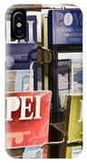Souvenirs Of Pompei IPhone Case