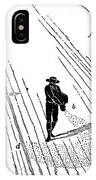 Sowing And Harrowing Corn IPhone Case