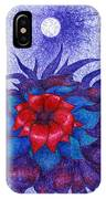 Space Flower IPhone Case