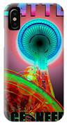Space Needle Poster Work A IPhone Case