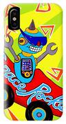 Space Rocket Racer IPhone Case