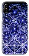 Space Time At Planck Length Vibrating At Speed Of Light Due To Heisenberg Uncertainty Principle IPhone Case