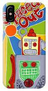 Spaced Out   Toyrobot IPhone Case