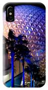 Spaceship Earth IPhone Case