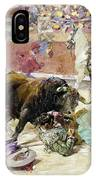 Spain - Bullfight C1900 IPhone Case