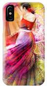 Spain - Flamencoscape 12 IPhone Case