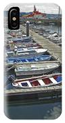 Row Boats In Spain Series 27 IPhone Case
