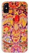 Spanish Bird Plate IPhone Case