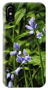 Spanish Bluebells IPhone Case