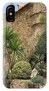 Spanish Church Garden IPhone Case