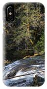 Spanish Moss And Falls IPhone Case