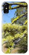 Spanish Moss In Juniper IPhone Case