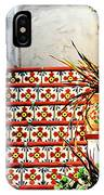 Spanish Tiles IPhone Case