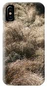 Sparkling Grasses IPhone Case