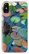 Sparkling Pond IPhone Case