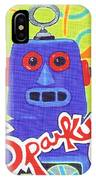 Sparky The Toy Robot IPhone Case