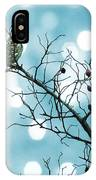 Sparrow In A Branch IPhone Case