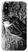 Sparrow On A Tree IPhone Case