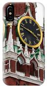 Spassky - Savior's - Tower Of Moscow Kremlin - Featured 2 IPhone Case