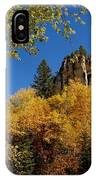 Spearfish Canyon In Autumn Color IPhone Case