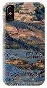 Spectacular View Of Rice Terrace IPhone Case