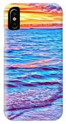 Spencer Beach Sunset IPhone Case