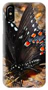Spicebush Swallowtail Butterfly Preflight IPhone Case