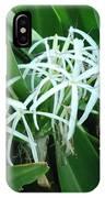 Spider Flower In Sint Maarten IPhone Case