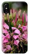 Spider Flower IPhone Case