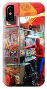 Spider Man Hot Dogs IPhone Case