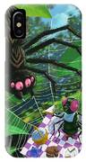 Spider Picnic IPhone Case