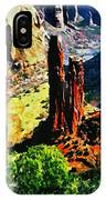 Spider Rock Canyon Dechelly  IPhone Case