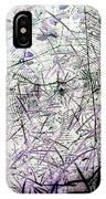 Spider Web Art 3 IPhone Case