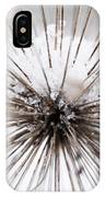 Spikes And Ice IPhone Case