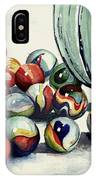 Spilled Marbles IPhone Case