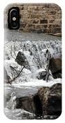 Spillway Waterfall IPhone Case
