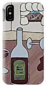 Essence Of Home - Spilt Wine IPhone Case