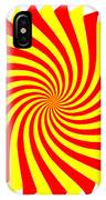 Spin Right On White IPhone Case