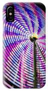 Spinning Disk IPhone Case