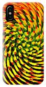 Spinning Watercolor  IPhone Case