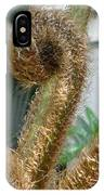 Spiral Plant IPhone Case