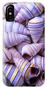 Spiral Sea Shells IPhone Case