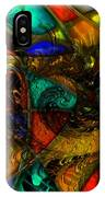 Spiral Stained Glass IPhone Case