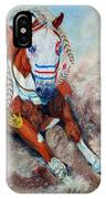 Spirit Of A War Pony  IPhone Case