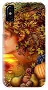 Spirit Of Autumn IPhone Case
